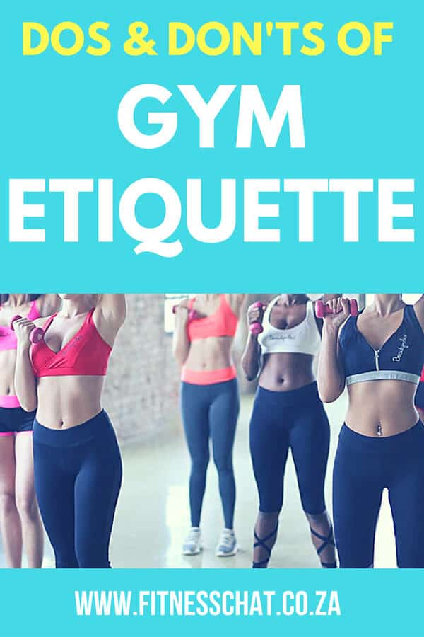 The dos and don'ts of gym etiquette