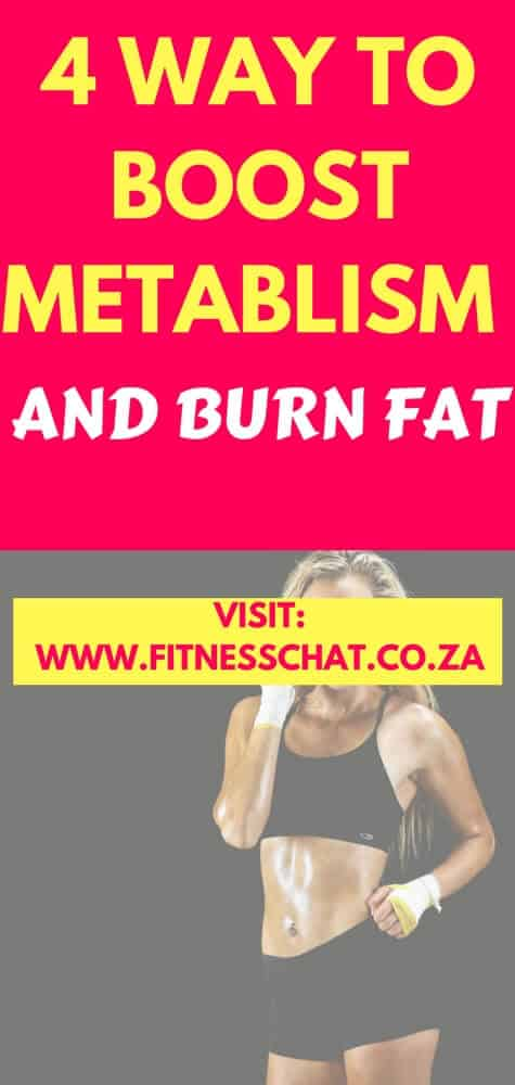 4 ways to boost metabolism naturally and become a calorie burning machine
