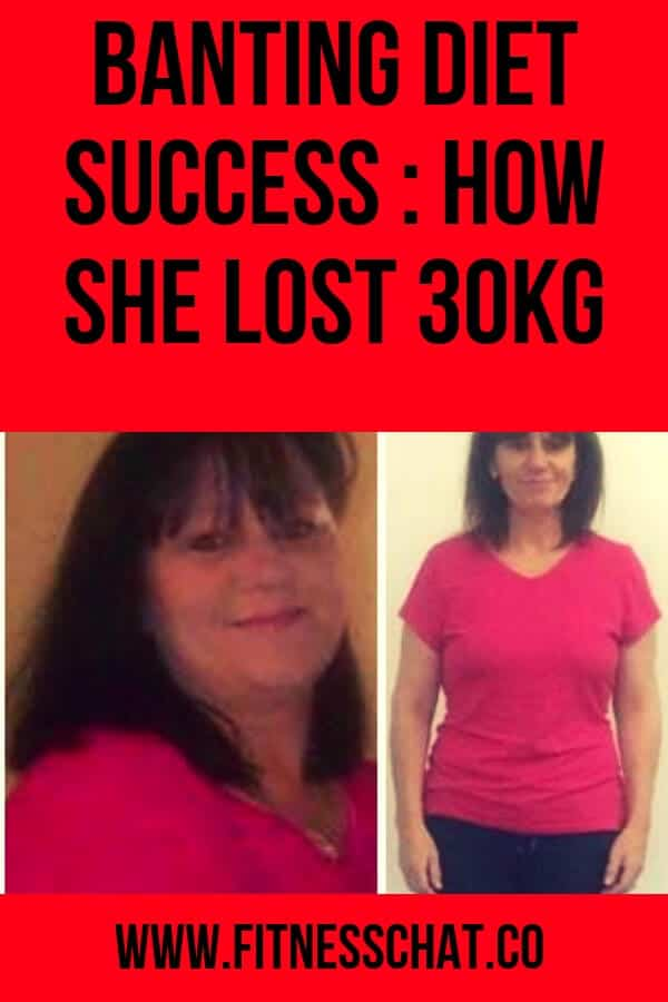 Banting diet success story from a woman who lost 30 kg in 6 months