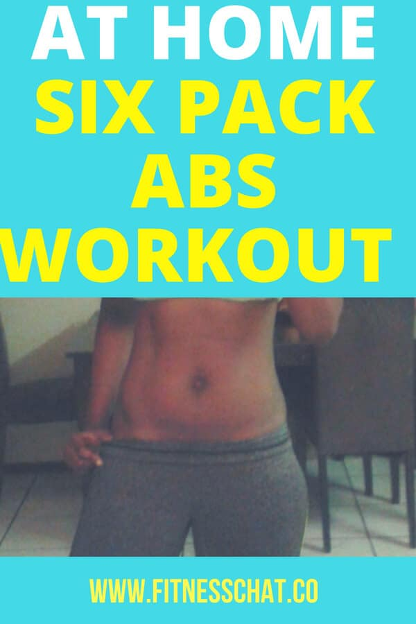 six pack abs workout at home