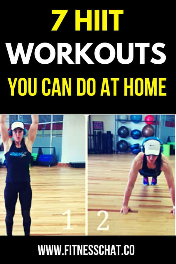 7 HIIT workouts you can do at home for weight loss