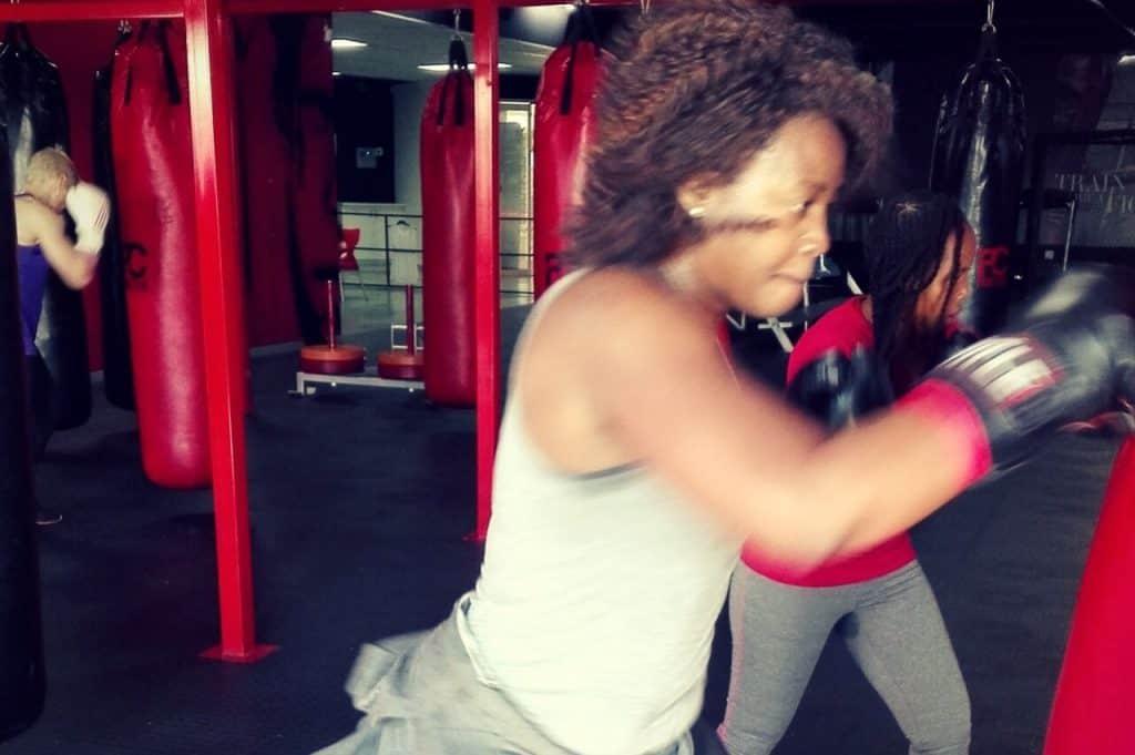 Reebok self defence class