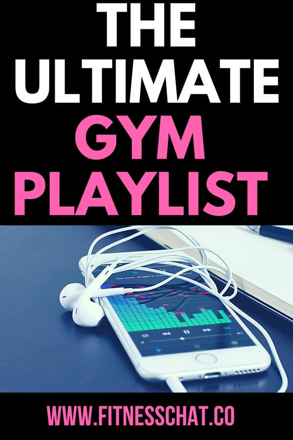 Gym playlist for workout motivation
