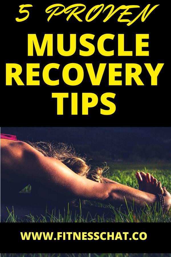 speed up your sore muscles recovery with these easy tips