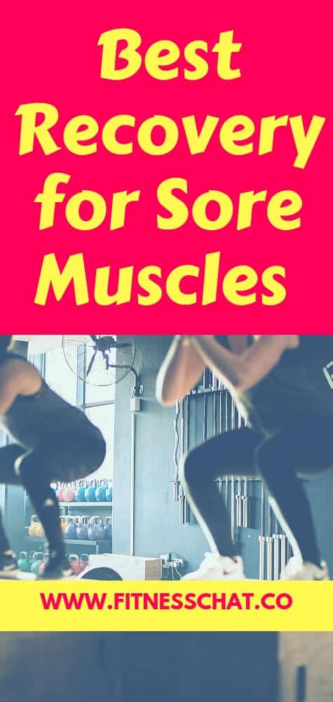 best recovery tips for sore muscles