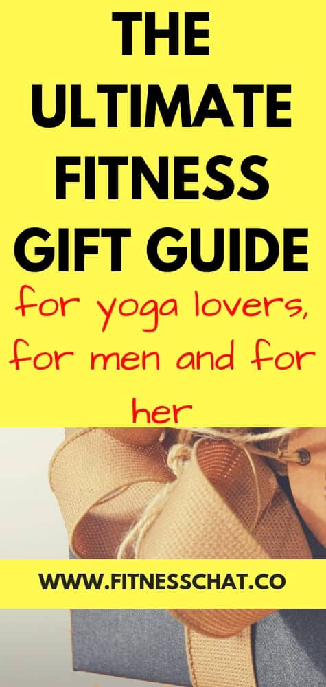 Ultimate gift guide for yoga lovers ( and fitness gift guide for men and women