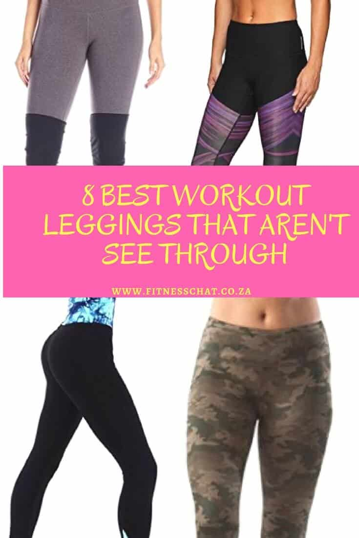 8 BEST WORKOUT LEGGINGS THAT AREN'T SEE THROUGH