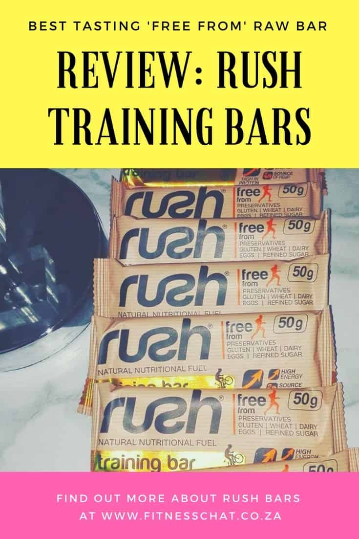 REVIEW: RUSH TRAINING BARS