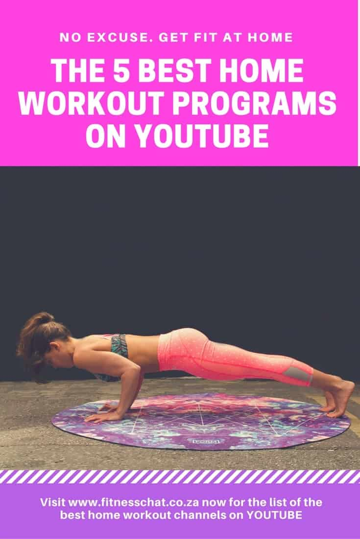 best home workout programs on youtube