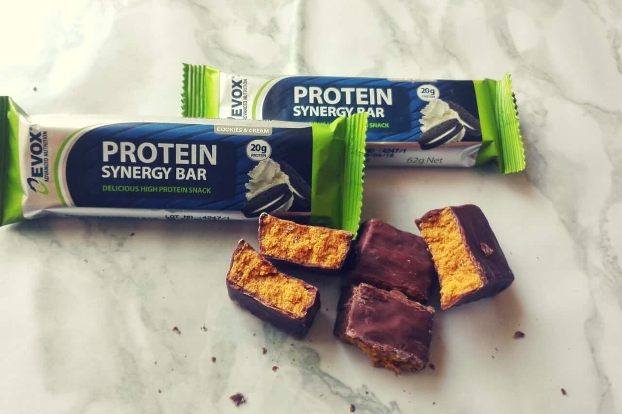 EVOX COOKIES AND CREAM SYNERGY BAR