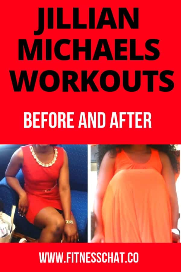 Jillian Michaels workouts before and after 30 day shred
