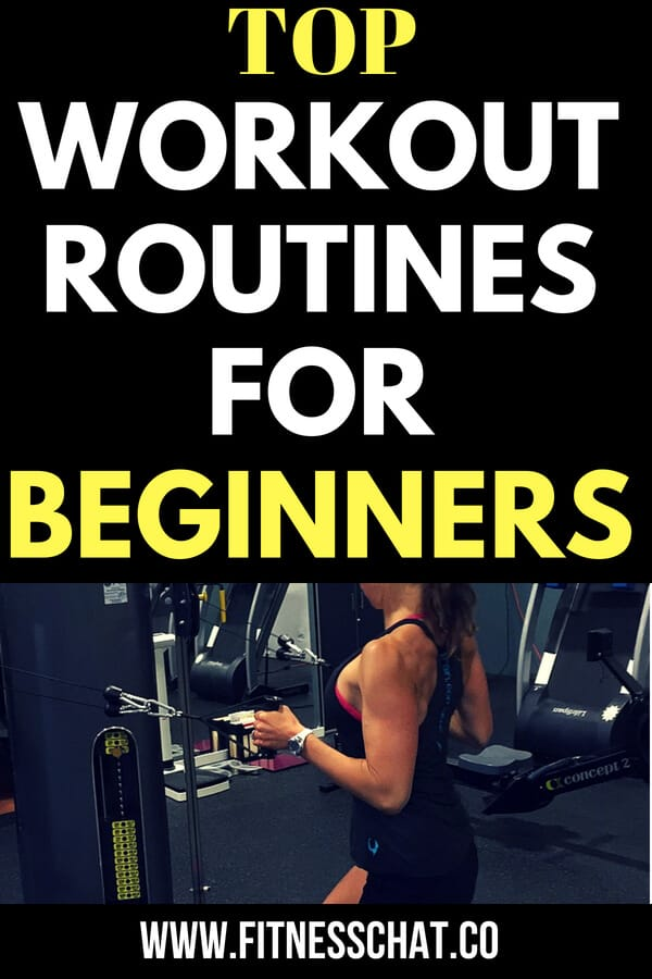 top workout routines for beginners