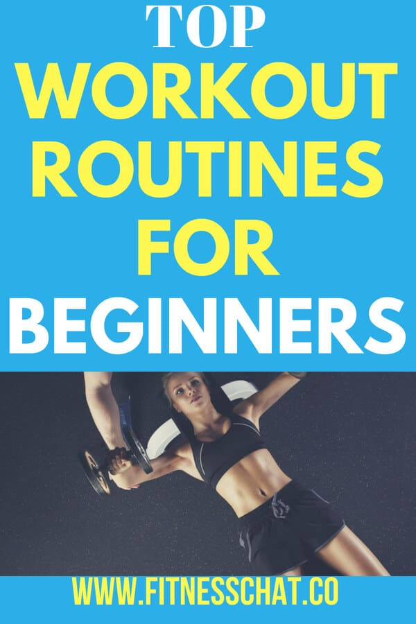 top workout routines and free bodybuilding training plans
