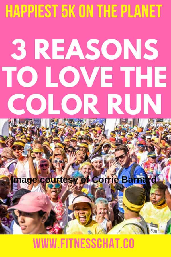 3 REASONS TO LOVE THE COLOR RUN