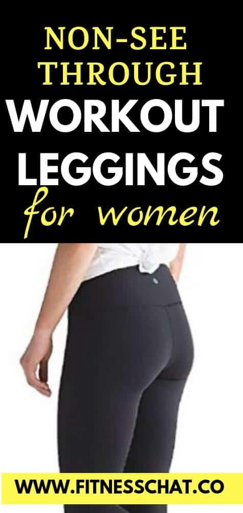 non see through workout leggings for women
