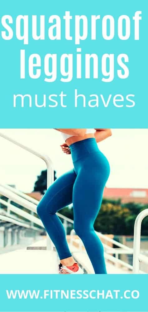 Must have squat proof leggings for women