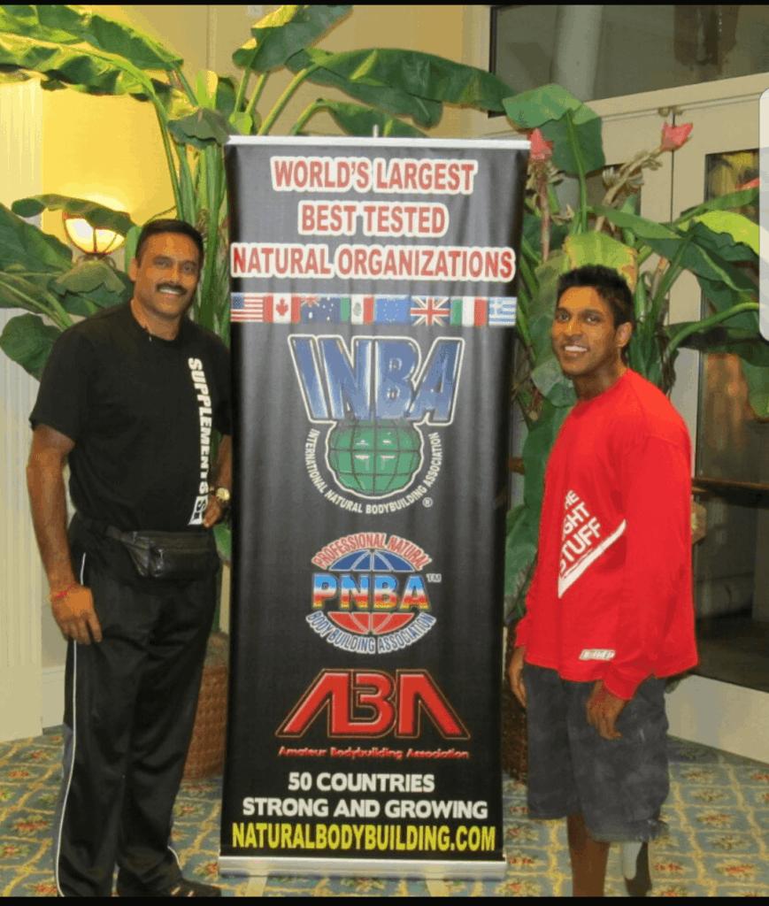 Kiran and Coach @ INBA San Diego