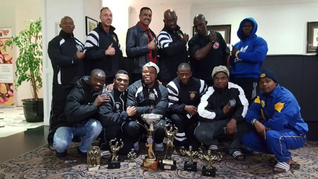 SAPS BODYBUILDING NATIONAL CHAMPIONS 2017