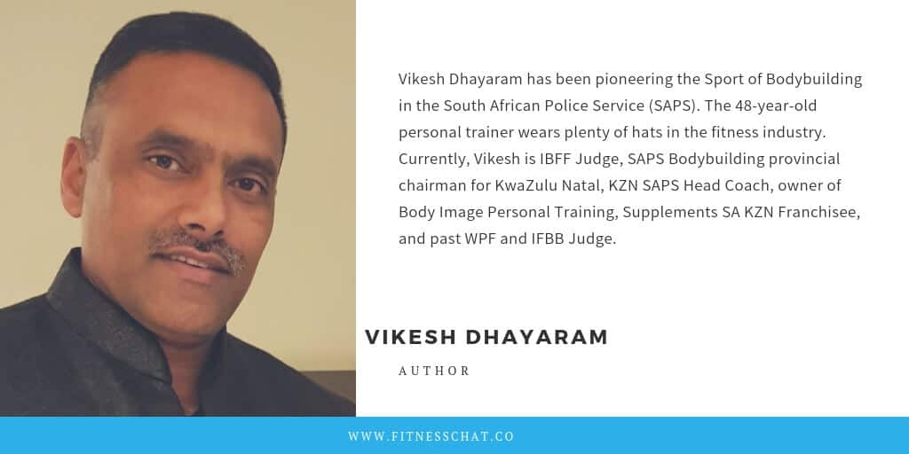 Personal trainer Vikesh Dhayaram BIO