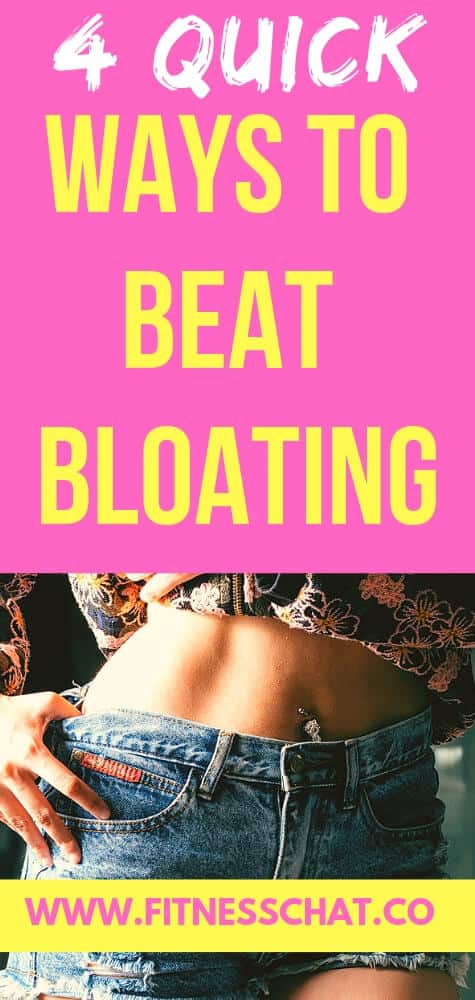 quick and easy ways to beat bloating