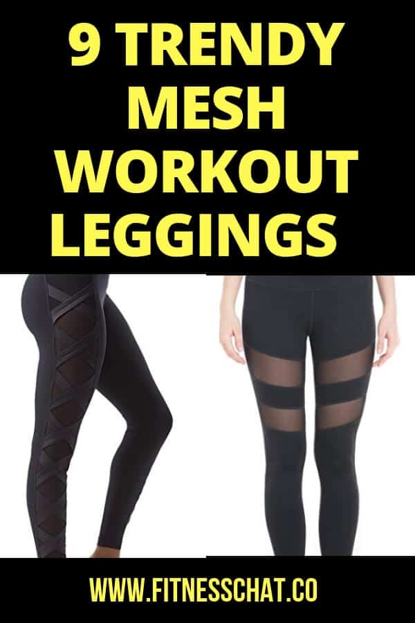 MESH LEGGINGS WITH POCKETS