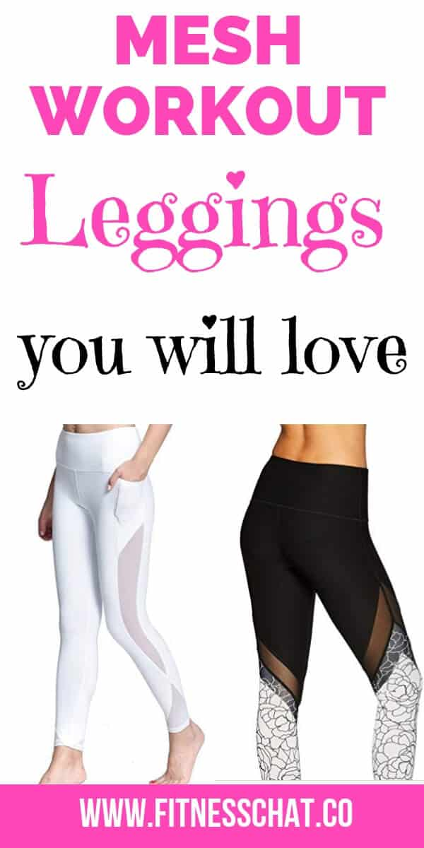 Nike and Lululemon mesh workout leggings