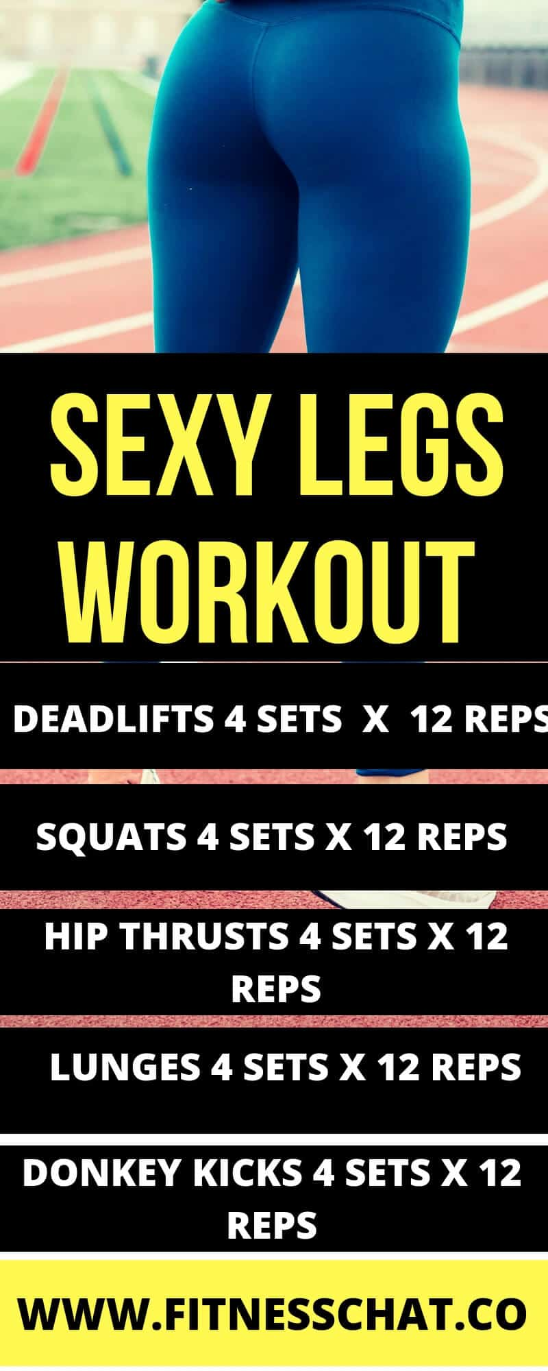 Sexy legs workout plan with dumbbells