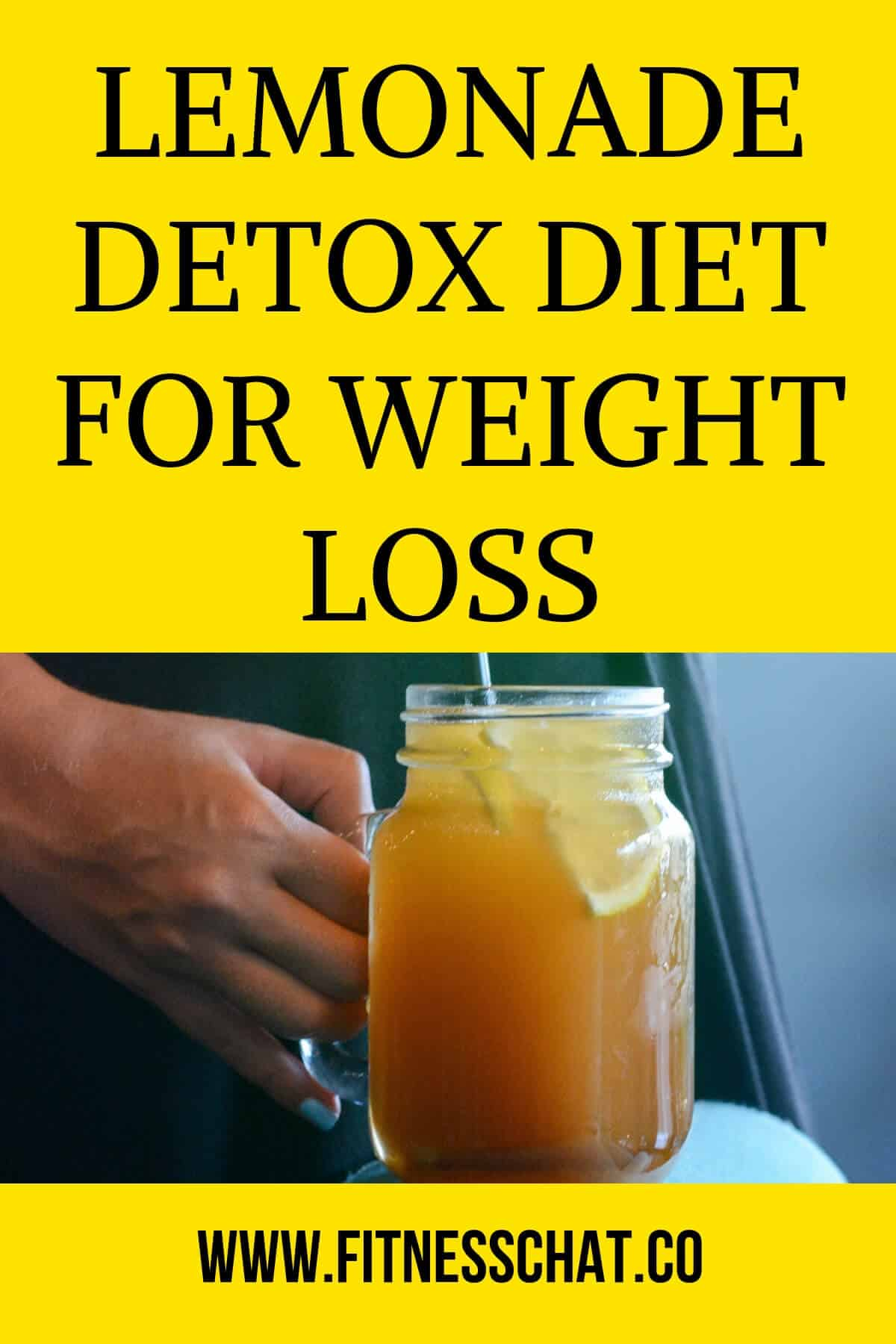 LEMONADE DETOX DIET FOR WEIGHT LOSS