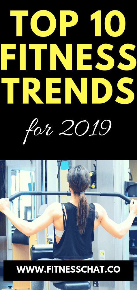 Top 10 Fitness Trends to expect in 2019