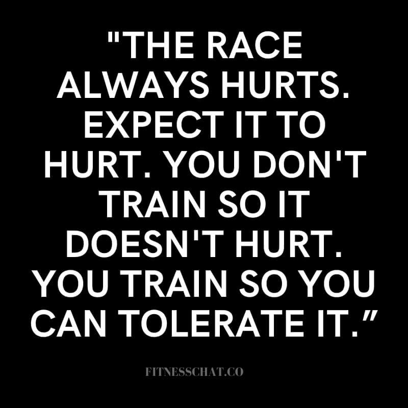 Quotes about marathon training